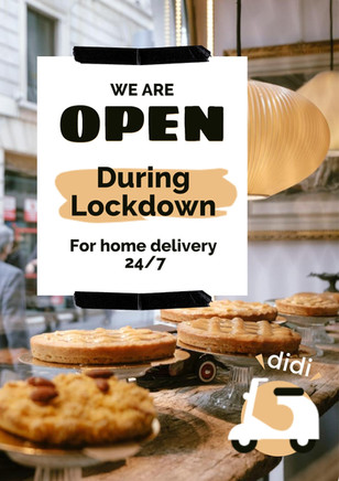 poster design - bakery 2