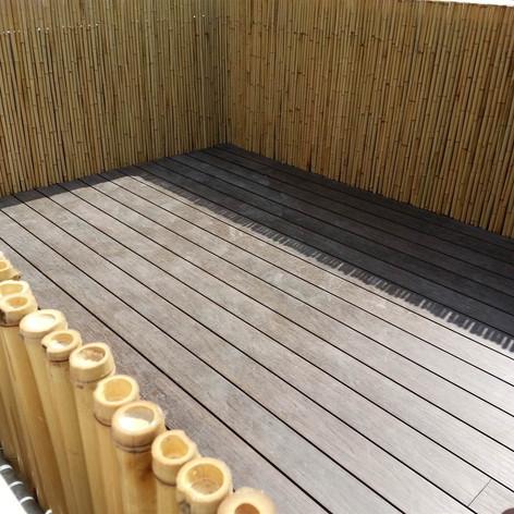 貝沙灣戶外木設計工程6