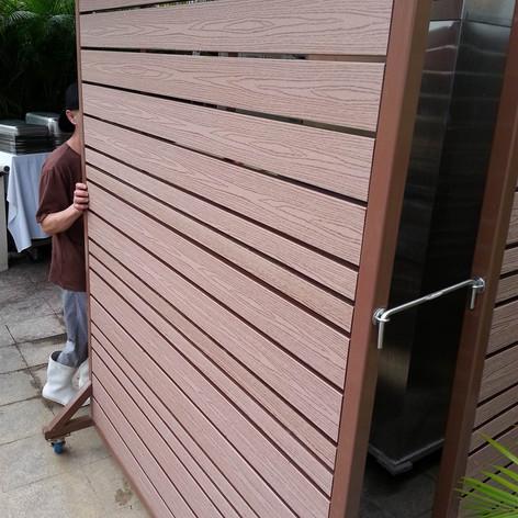 沙田中央大會堂餐廳戶外欄柵6