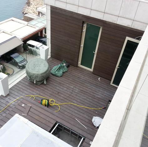 貝沙灣戶外木工程27
