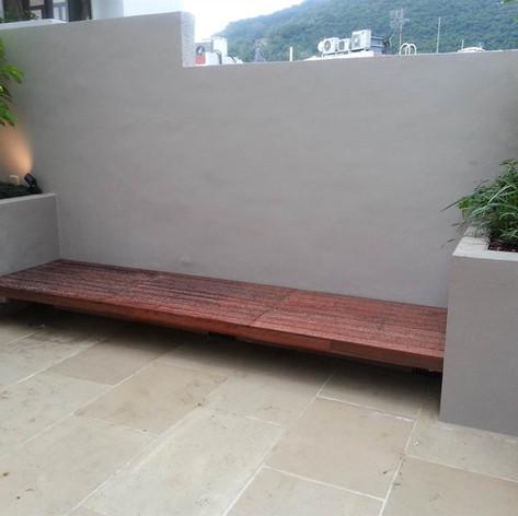 薄扶林戶外木工程11