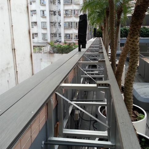 紅磡SAV酒店戶外木工程17