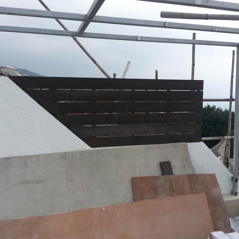 西貢戶外木工程9