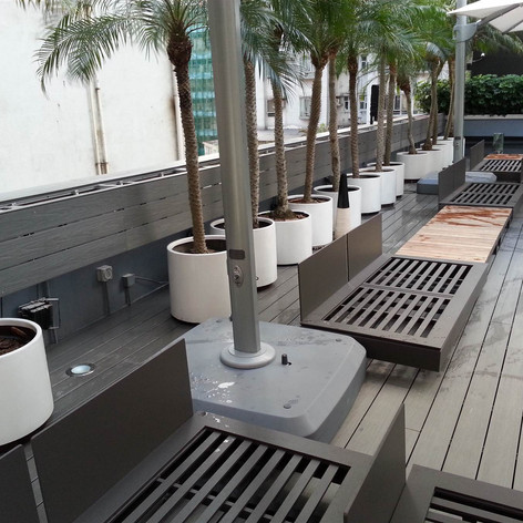 紅磡SAV酒店戶外木工程18