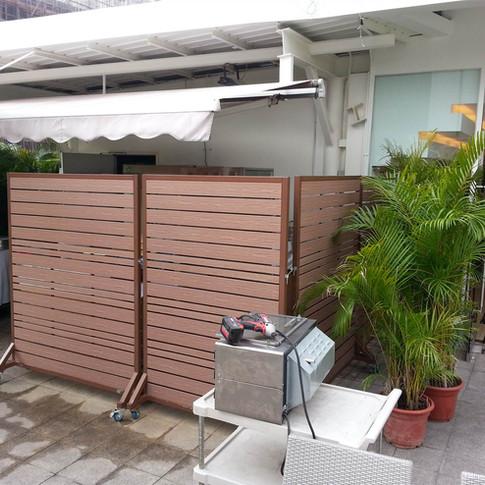 沙田中央大會堂餐廳戶外欄柵5