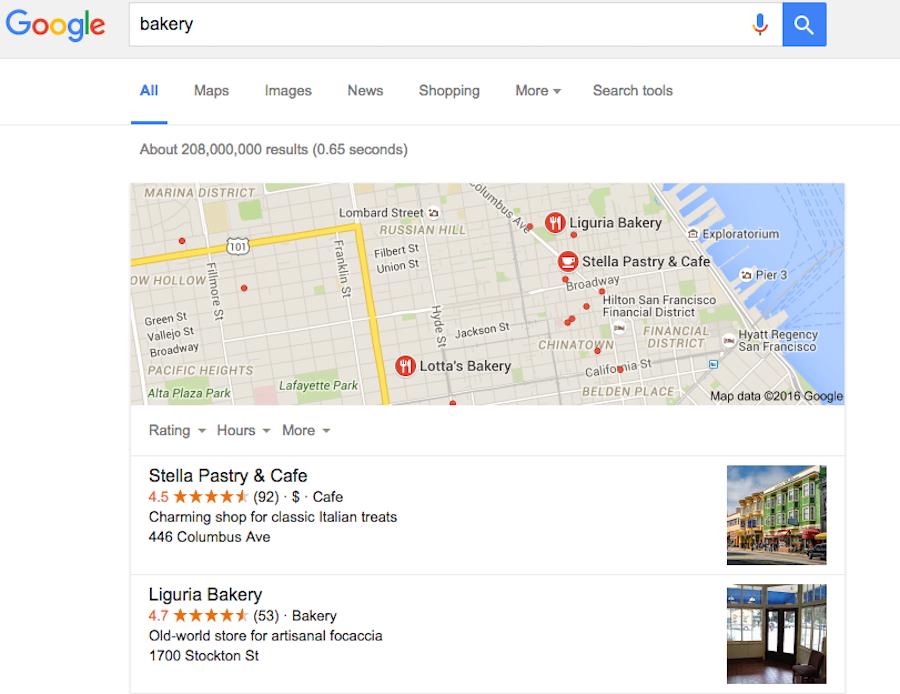 Google商家, 提升SEO