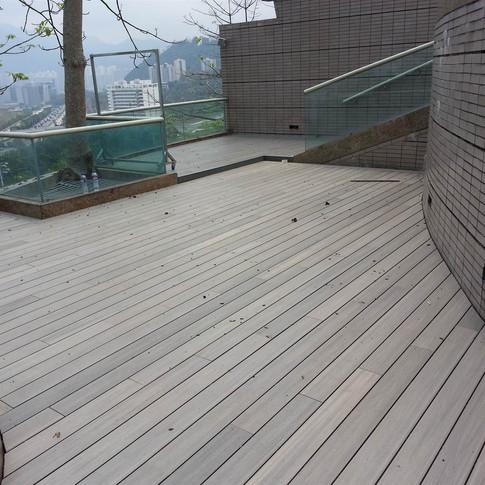 鹿茵山莊戶外木工程17