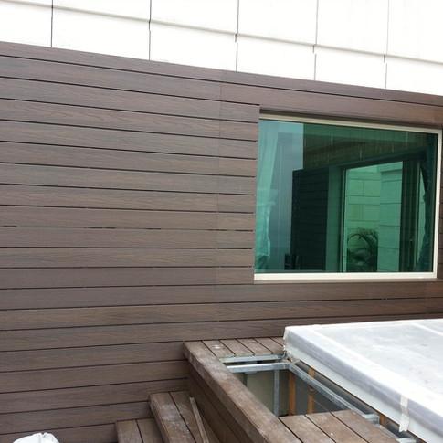 貝沙灣戶外木工程26