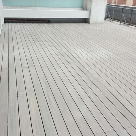港威戶外木地板工程6