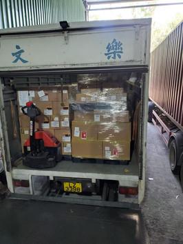 中港物流過車