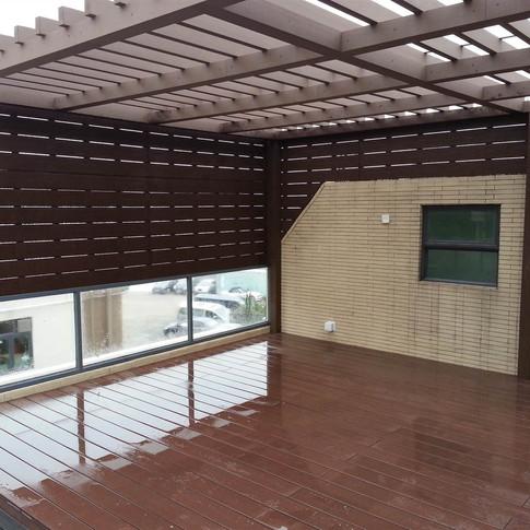 山貝村戶外木工程3