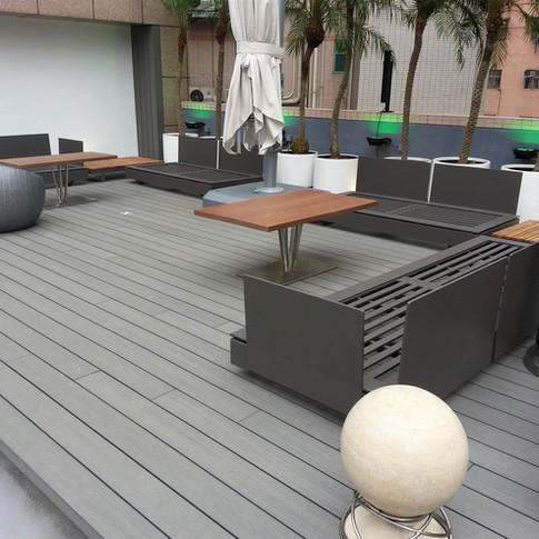紅磡SAV酒店戶外木工程16