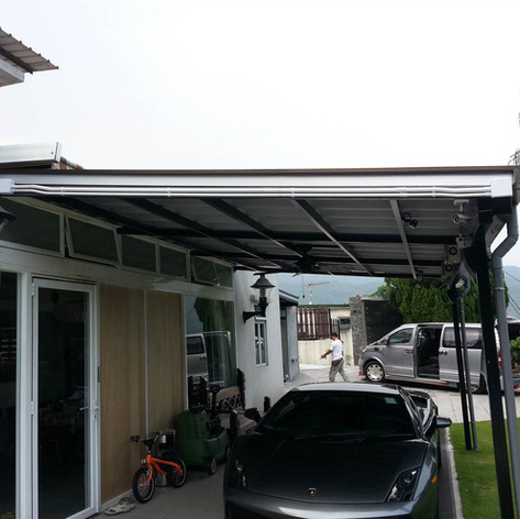 甲邊朗戶外木屋簷工程11