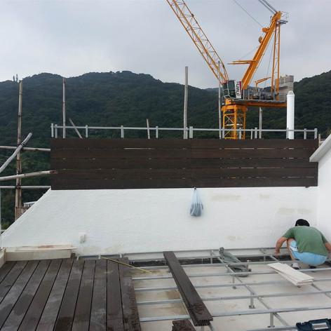 西貢戶外木工程8