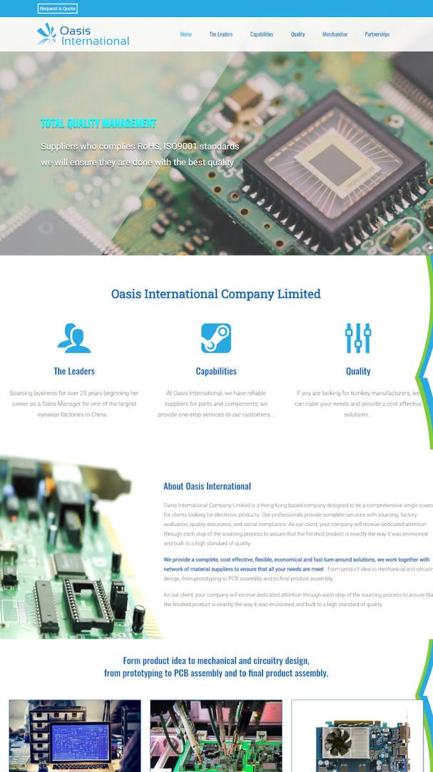 oasisintlcoltd-網頁設計