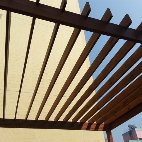西環戶外木工程11