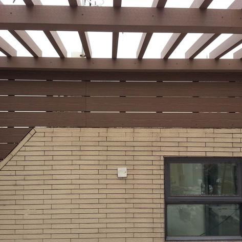 山貝村戶外木工程9