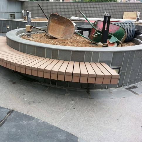 荃灣城市中心戶外木工程13