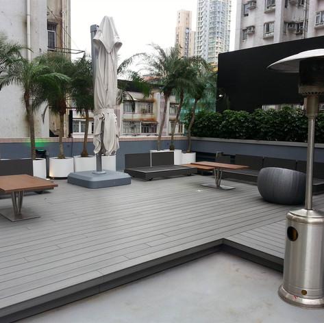 紅磡SAV酒店戶外木工程13