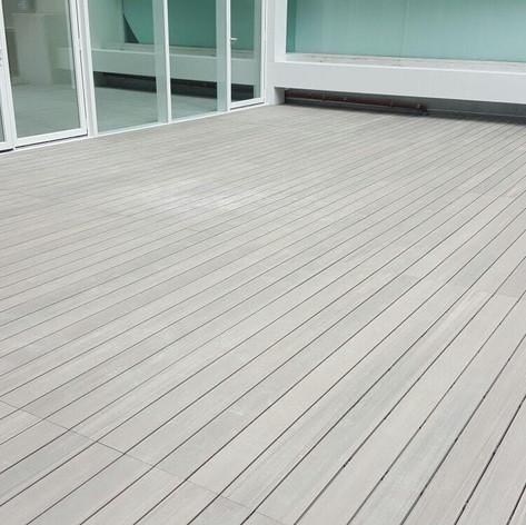港威戶外木地板工程3