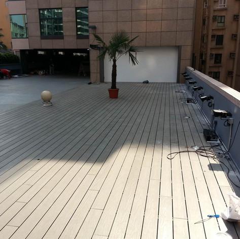 紅磡SAV酒店戶外木工程11