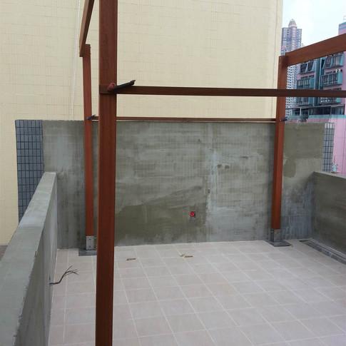 西環戶外木工程5