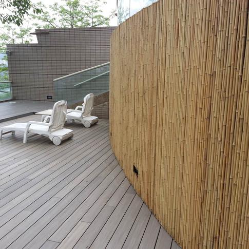 鹿茵山莊戶外木工程28