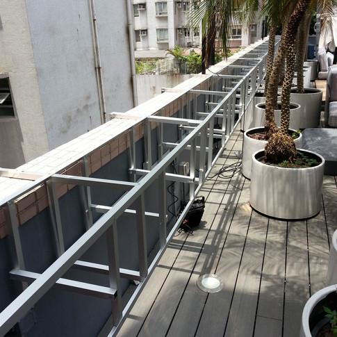 紅磡SAV酒店戶外木工程14