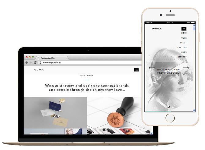 最新 - 一頁式網頁設計