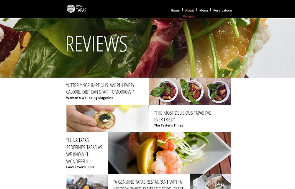 餐廳網站設計-頁3