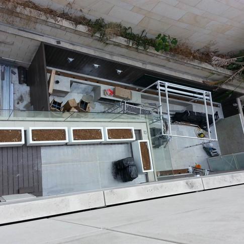 貝沙灣戶外木工程21