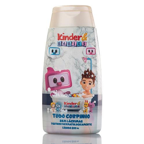 SABONETE TODO CORPINHO KINDER & BABIES FOFINHO 200 ML
