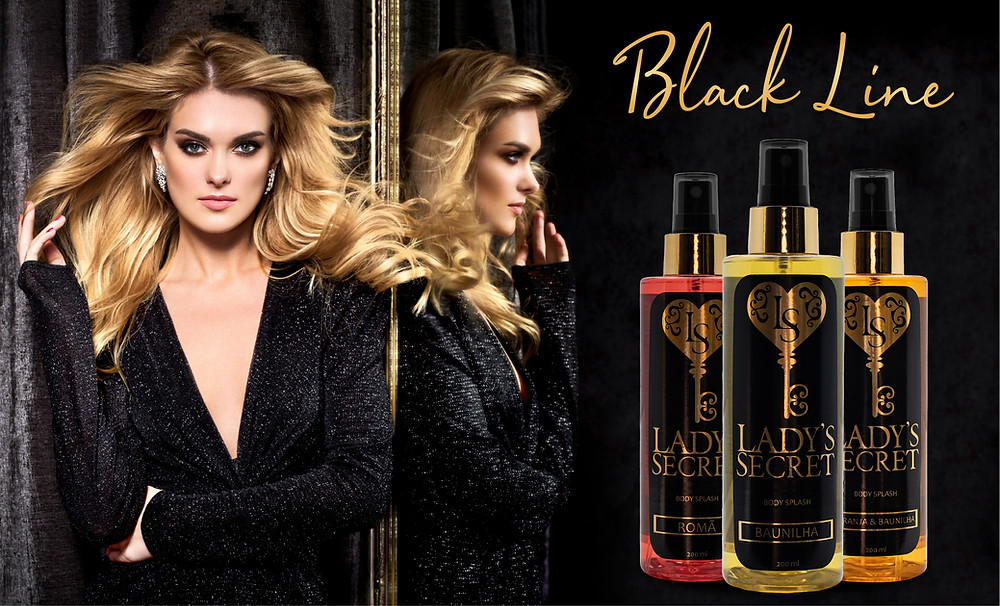 Linha Black Line  - Body Splash Lady's Secret