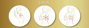 autoexame na prevenção contra o câncer de mama, toque-se, movimentos circulares, outubro rosa