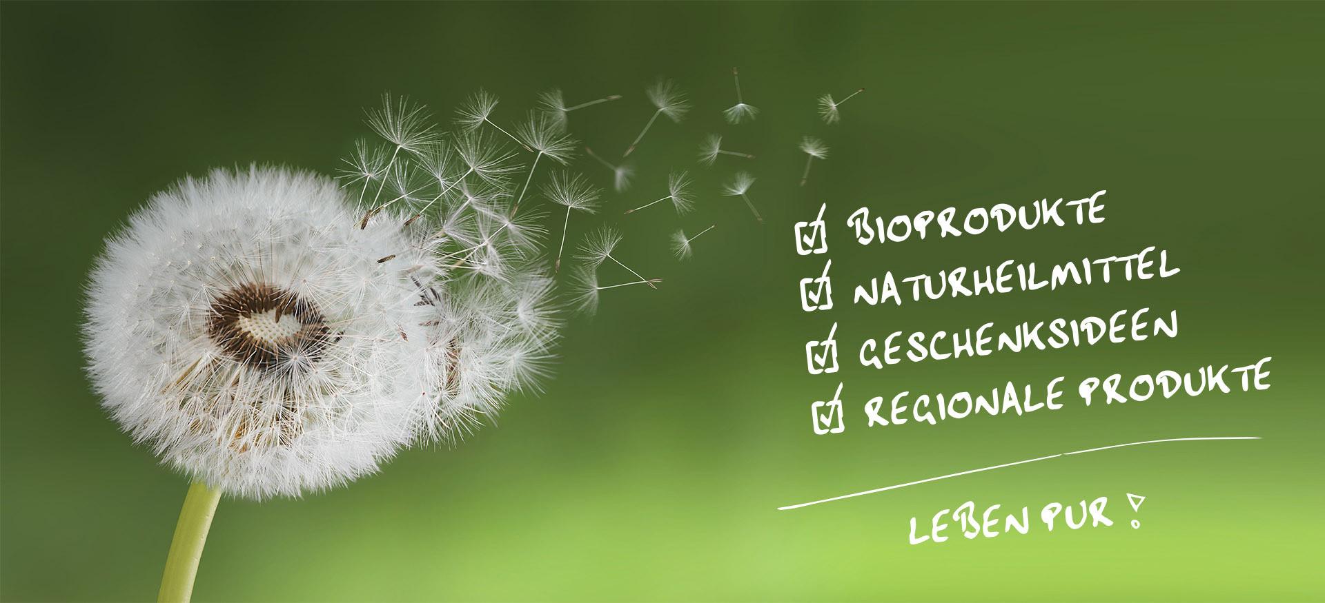 Gxund ist Leben pur! Bioprodukte, Naturheilmittel, Geschenkideen, Regionale Produkte
