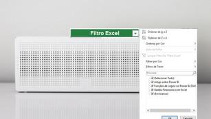Filtrar e Ordenar no Excel