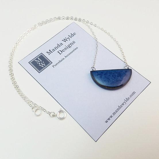 Chandelier Necklace in Deep Sea