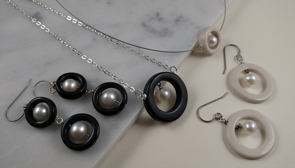 1 Manda Wylde Designs Porcelain and Pear