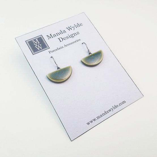 Small Chandelier Earrings in Tidepool