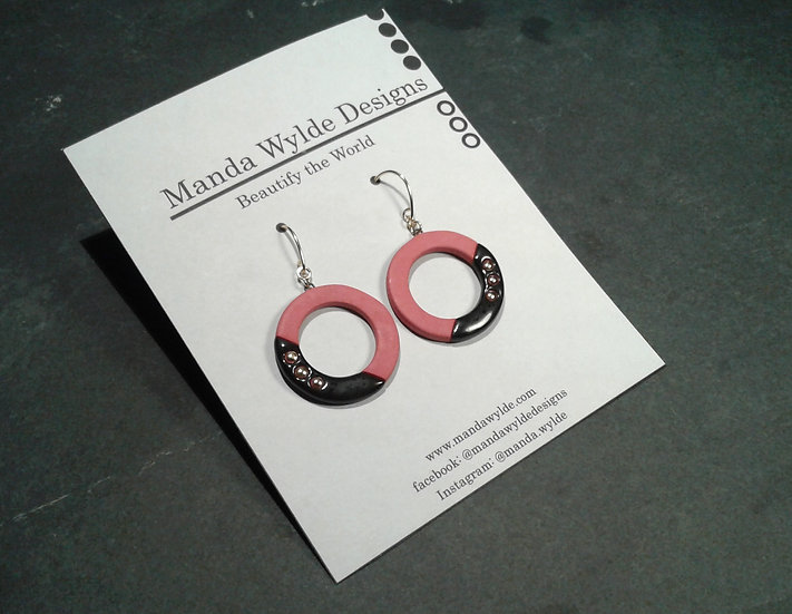 Red Collection Ring Earrings