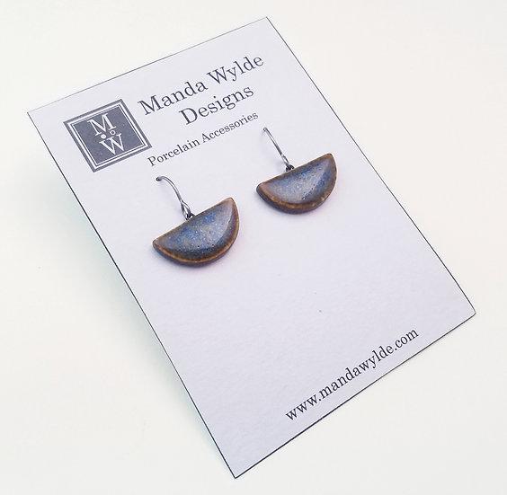 Small Chandelier Earrings in Earth and Sky