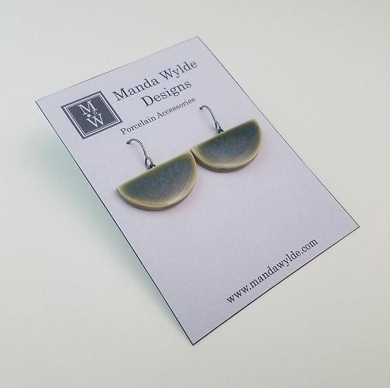 Large Chandelier Earrings in Tidepool