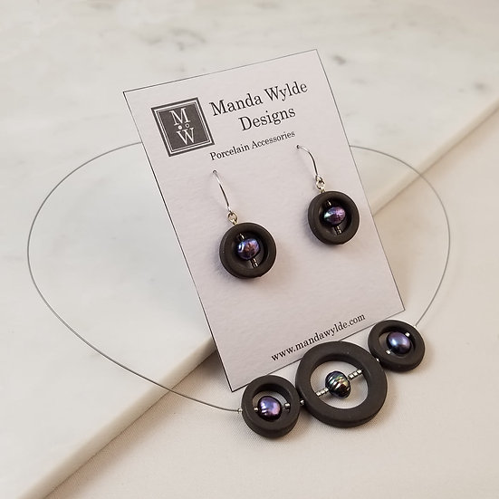 G2 Black with Baroque Pearls Gift Set