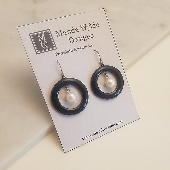 Nouveau Naturals Earrings in Stony River