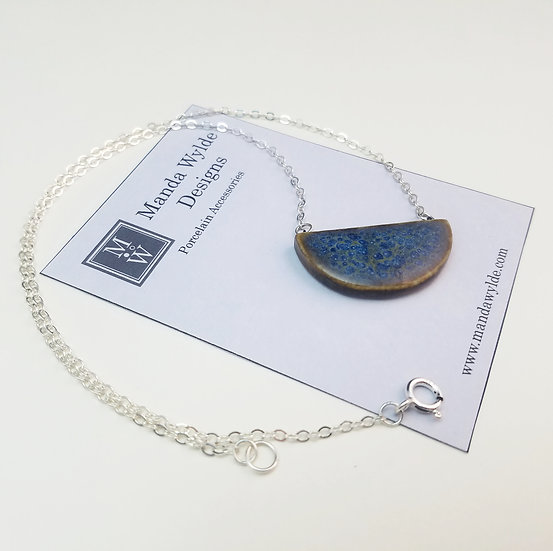 Chandelier Necklace in Earth and Sky