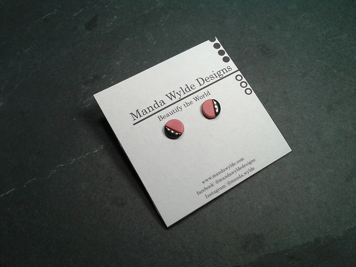 Red Collection Studs: Small