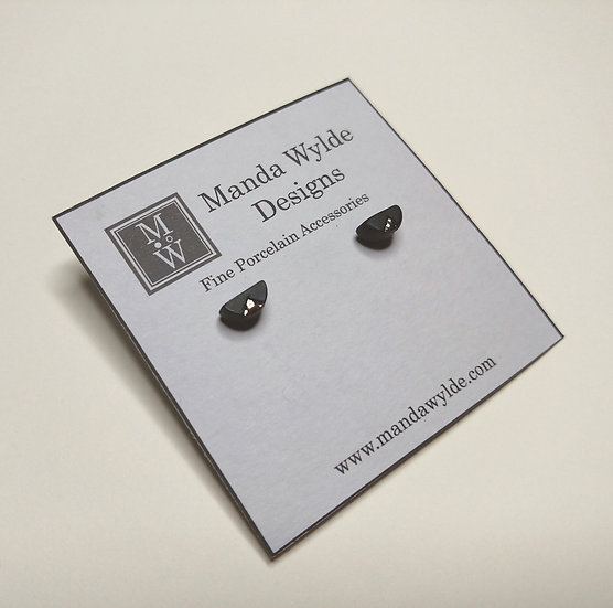 Black and Platinum Textured Chandelier Minis