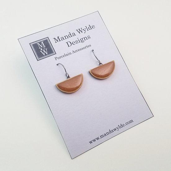 Small Chandelier Earrings in Gourd