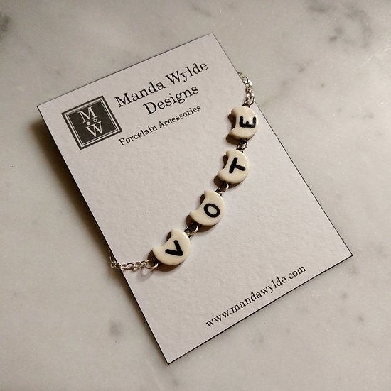 #VOTEKitten Necklace