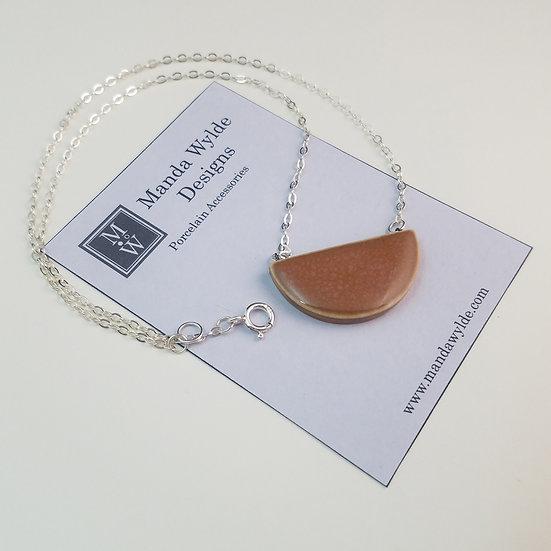 Chandelier Necklace in Gourd